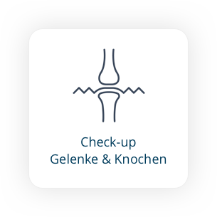 Check Up Gelenke Knochen